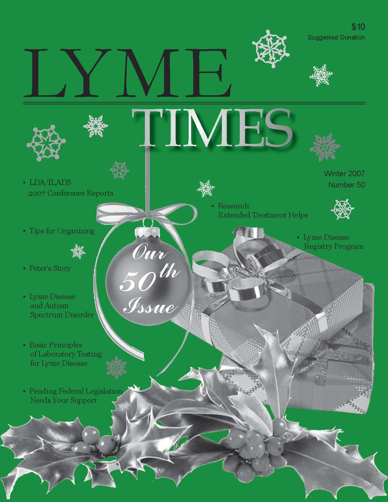 Lyme Times # 50 - Winter, 2007